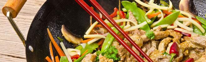 | China Wok Gerichte